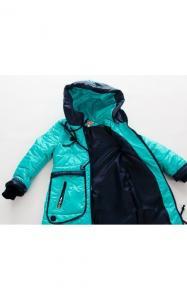 Фото Верхняя одежда (весна-осень) 18020 Куртка ФИРА демисезонная д/дев.(бирюза)