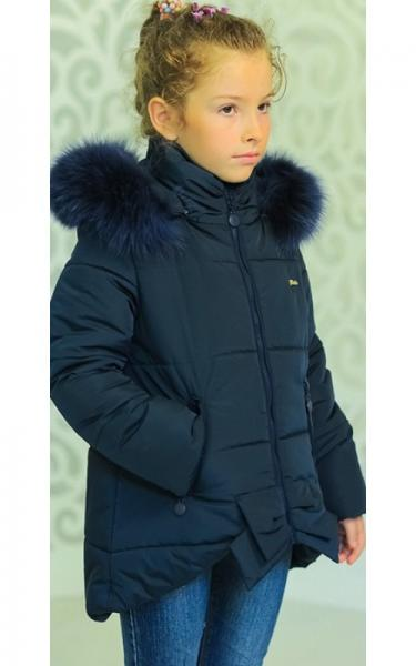 12152 Куртка ДЖИНА зима д/дев(джинс)