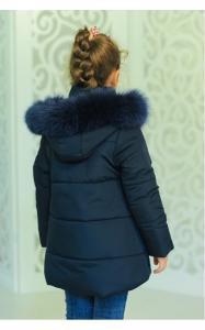 Фото Верхняя одежда (зима) 12152 Куртка ДЖИНА зима д/дев(джинс)