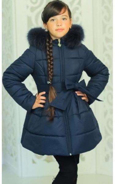 12159 Куртка ЛАЙЛА зима д/дев(джинс)