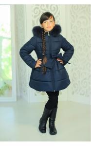 Фото Верхняя одежда (зима) 12159 Куртка ЛАЙЛА зима д/дев(джинс)