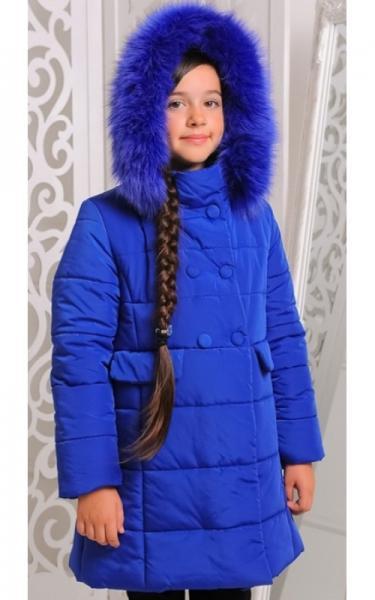 12151-2 Куртка ОЛИМПИЯ зима д/дев (электрик)