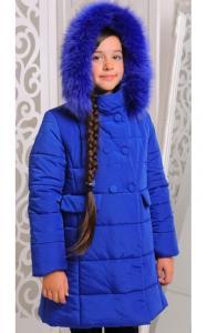 Фото Верхняя одежда (зима) 12151-2 Куртка ОЛИМПИЯ зима д/дев (электрик)