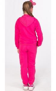Фото Спортивная одежда УК11 Спорт. костюм утепленный д/дев (розовый)