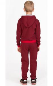 Фото Спортивная одежда УК03 Спорт. костюм утепленный, унисекс (бордовый)