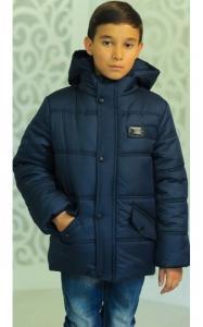 Фото Верхняя одежда (зима) 12206 Куртка ЭДИК зимняя д/мал(синий)