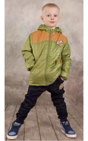 20565/2 Куртка СВЯТОСЛАВ утепл. (зеленая)