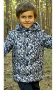 Фото Верхняя одежда (весна-осень) 20597 Куртка-жилет  ВИТАЛИК утепл. (серый)