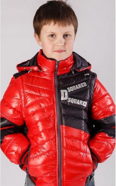 5020 Жилет-куртка ВОЛЬДЕМАР демисезонная (красный)