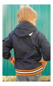 Фото Верхняя одежда (весна-осень) 903168 Ветровка д/мальч ГАРРИ (т.синий+оранж)