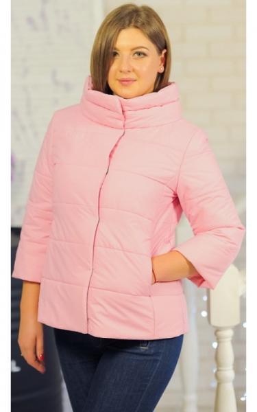 30-044 Куртка ЛАЙМА демисезонная женская(розовый)