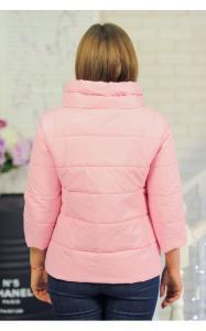 Фото Демисезонная одежда 30-044 Куртка ЛАЙМА демисезонная женская(розовый)