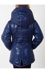 Фото Верхняя одежда (весна-осень) 0508 Куртка(деми) Даша д/дев (синий)