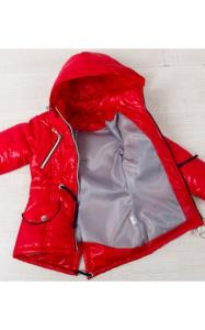 Фото Верхняя одежда (весна-осень) 0608 Куртка(деми) Даша д/дев (красный)