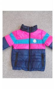Фото Верхняя одежда (весна-осень) 1003161 Куртка БАРНИ весенне-осенняя (т.синий+розовый+голубой)