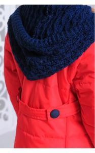 Фото Верхняя одежда (весна-осень) 12186 Куртка ШАРЛОТТА демисезонная д/дев(красный)
