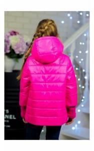 Фото Верхняя одежда (весна-осень) 30-034 Куртка ЛАЙМА демисезонная д/дев (малина)