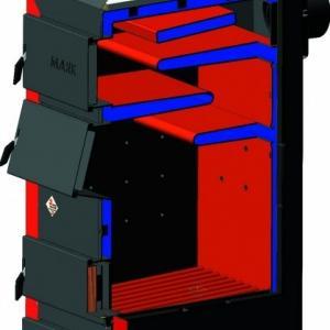 Фото Отопление, Котлы газовые напольные, маяк Твёрдотопливный котёл длительного горения КТР-16 ECO MANUAL