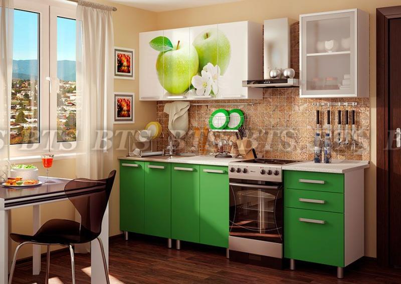 Фото Кухни готовые Кухня Фруттис 1,8 м ЛДСП (BTS)
