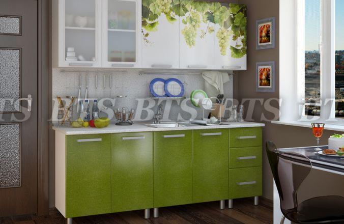 Фото Кухни готовые Кухня Лоза 2,0 м Люкс(BTS)