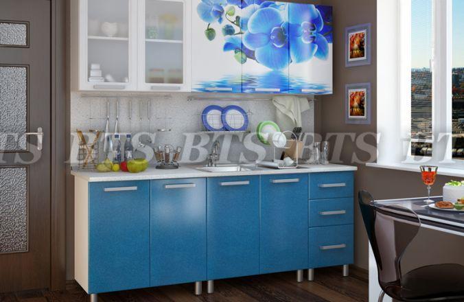 Фото Кухни готовые Кухня Лазурь 2,0 м Люкс (BTS)