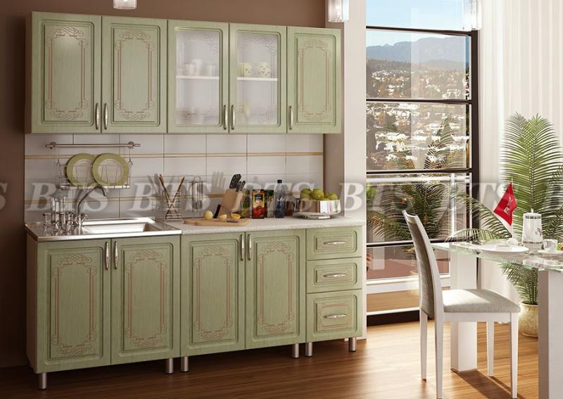 Фото Кухни готовые Кухня Прима 2,0 м Люкс (BTS)