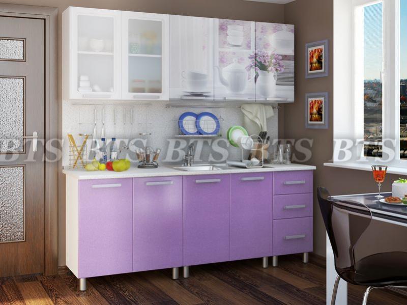 Фото Кухни готовые Кухня Акварель 2,0 м Люкс (BTS)