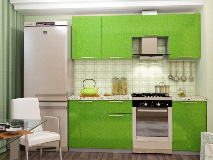 Кухня Олива-Зелёный 2.1 м (DCB)