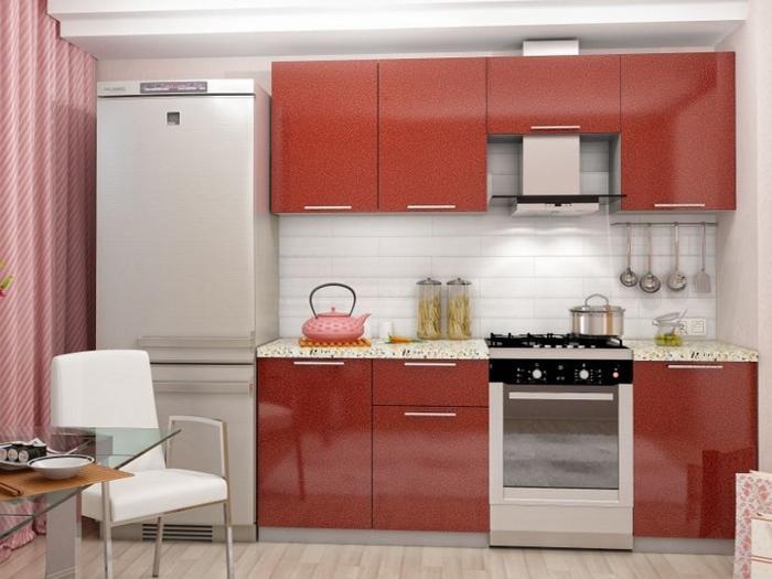 Кухня Олива-Гранат 2.1 м (DCB)