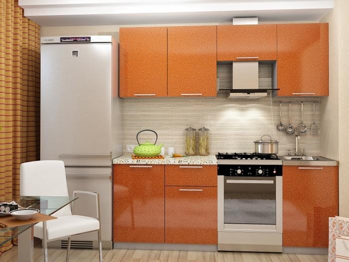 Кухня Олива-Оранж 2.1 м (DCB)