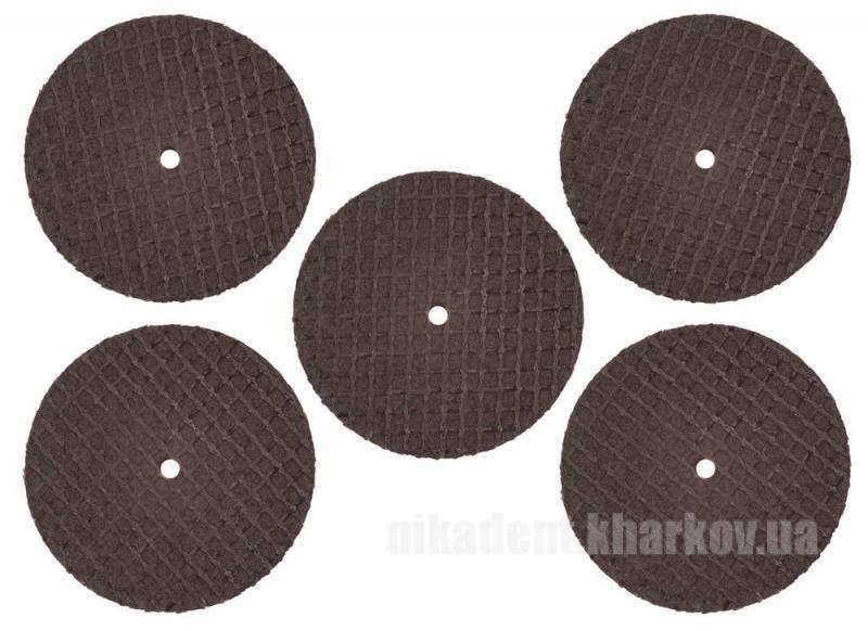 Фото Для зуботехнических лабораторий, АКСЕССУАРЫ, Полиры, щетки, диски Диск прорезной карборундовый для металла 38х1,0