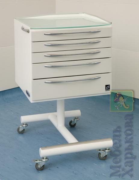 Панок-Соло 500 (мобильная тумба) - Медицинская мебель в Харькове