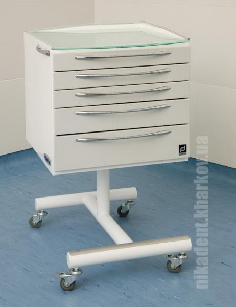 Фото Для стоматологических клиник, Мебель медицинская и УФ-камеры. Панок-Соло 500 (мобильная тумба)