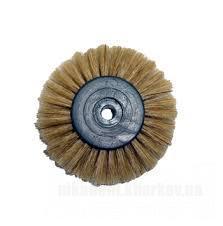 Фото Для зуботехнических лабораторий, АКСЕССУАРЫ, Полиры, щетки, диски Щетка из натуральной щетины для шл/маш. 4-х рядная