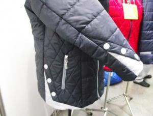 Фото Куртки демисезонные «SOFINI» Куртка женская «Кнопка», цвет темно-синий