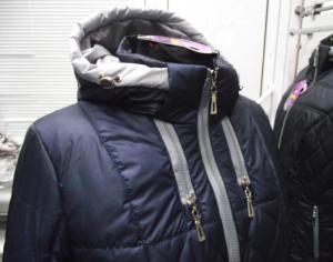 Фото Куртки демисезонные «SOFINI» Куртка женская «Мишель», цвет – темно-синий