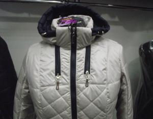 Фото Куртки демисезонные «SOFINI» Куртка женская «Мишель», цвет – беж