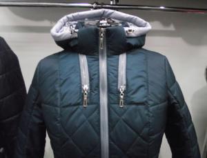 Фото Куртки демисезонные «SOFINI» Куртка женская «Мишель», цвет – волна