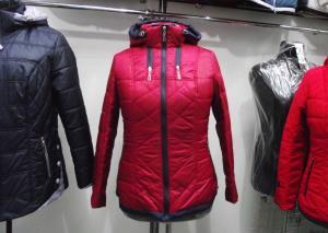 Фото Куртки демисезонные «SOFINI» Куртка женская «Мишель», цвет – бордо