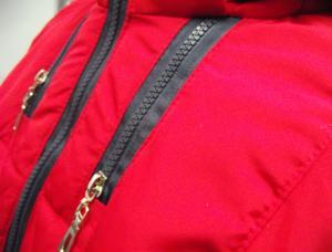 Фото Куртки демисезонные «SOFINI» Куртка женская «Мишель», цвет – красный (материал – канада)