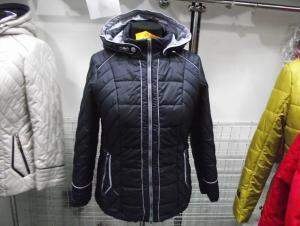 Фото Куртки демисезонные «SOFINI» Куртка женская «МТ-21», цвет – темно-синий