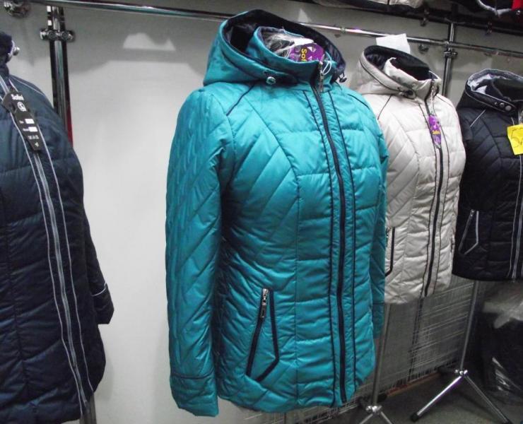 Куртка женская «МТ-21», цвет – бирюза