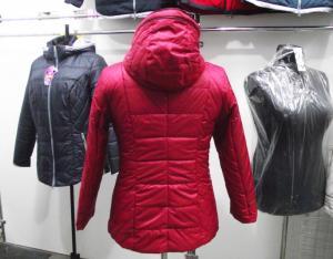 Фото Куртки демисезонные «SOFINI» Куртка женская «МТ-21», цвет – бордо