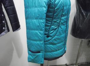 Фото Куртки демисезонные «SOFINI» Куртка женская «МТ-27», цвет – бирюза