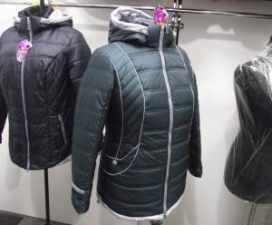 Фото Куртки демисезонные «SOFINI» Куртка женская «МТ-27», цвет – волна