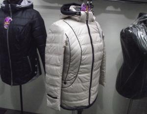 Фото Куртки демисезонные «SOFINI» Куртка женская «МТ-27», цвет – беж