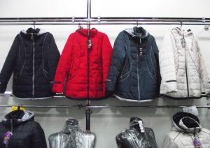 Фото Куртки демисезонные «SOFINI» Куртка женская «МТ-27», цвет – темно-синий  (материал – канада)