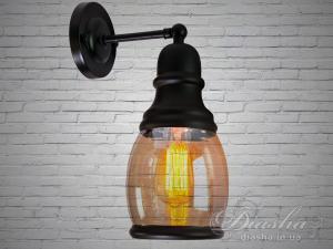 Фото  Настенно-потолочный светильник в стиле Loft 186-1