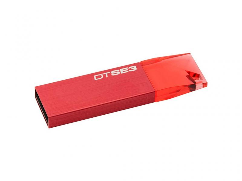 Флеш USB DataTraveler SE3 8 GB Red (KC-U688G-4C1R) ТМ Kingston