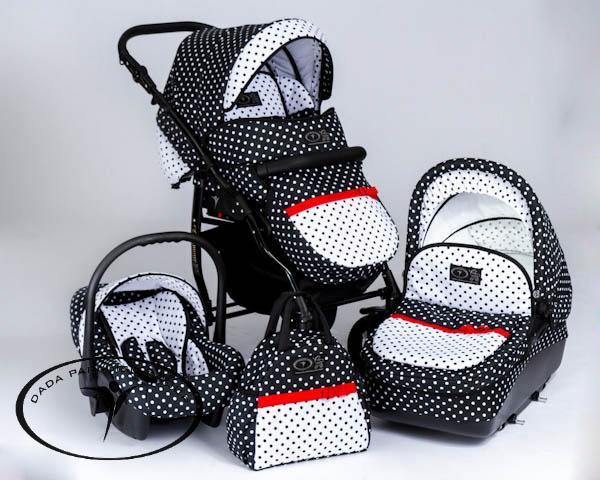 Универсальная коляска Dada Paradiso Group Glamour Dots